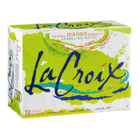 La Croix Sparkling Water Mango