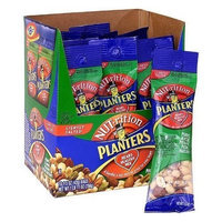 Planters Nuts on the Go Heart Healthy Mix Peanuts, Almonds, Pistachios, Pecans, and Hazelnuts Eighteen Bags