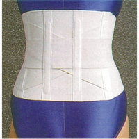 Lumiscope 723S Criss Cross White Back Support, Small