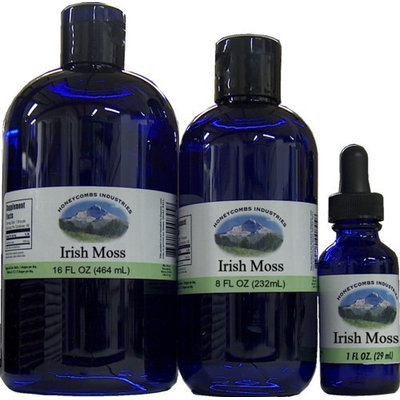 HoneyCombs Irish Moss Extract Alcohol Free (Liquid)
