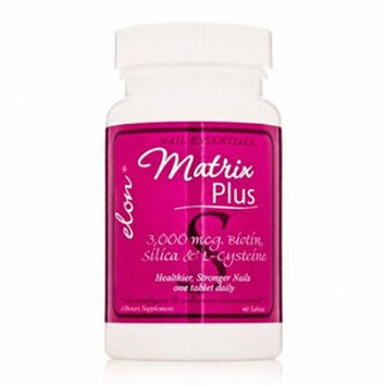 Elon Matrix Plus Biotin Supplement For Nails - 60 Ea
