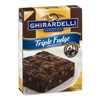 Ghirardelli Chocolate Brownie Mix Triple Fudge