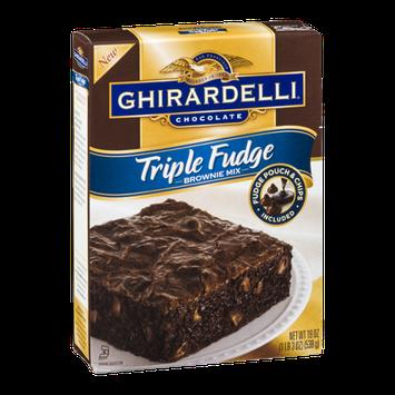 Ghirardelli Chocolate Brownie Mix Triple Fudge