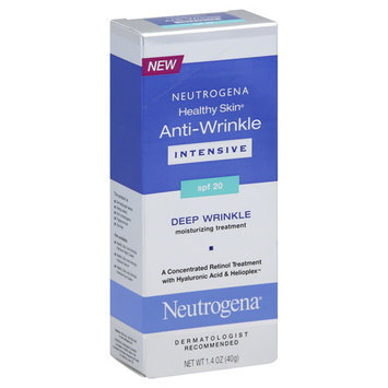 Neutrogena Healthy Skin Anti-Wrinkle Moisturizing Treatment, Deep Wrinkle, SPF 20, Intensive, 1.4 oz (40 g)