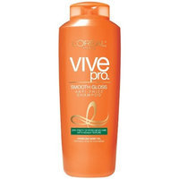 L'Oréal Paris Vive Pro Smooth Gloss Shampoo for Dry, Frizzy Hair with Medium Texture
