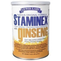 Lewis Lab Staminex With Ginseng 16 oz ( Multi-Pack)