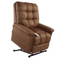 Mega Motion Birch 3 Position Lift Chair, Rust, 1 ea