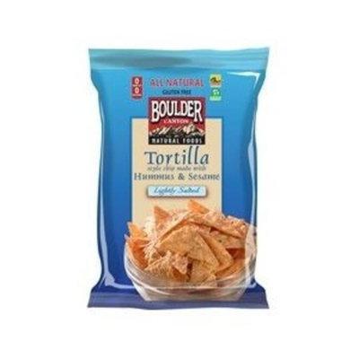 Boulder Canyon Hummus Sesame Tortilla Chips (12x5 OZ) ( Value Bulk Multi-pack)