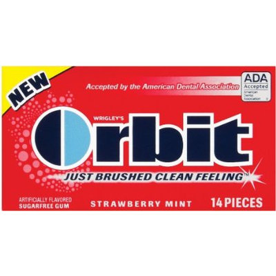 Orbit Strawberry Mint Sugarfree Gum