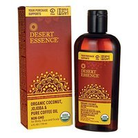 Desert Essence Organic Coconut with Jojoba and Coffee Oil