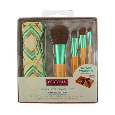 Ecotools Boho Luxe Travel Make Up Brush Set