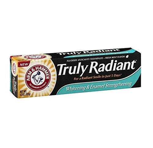 Arm and Hammer Truly Radiant Whitening and Enamel Strengthening Toothpaste