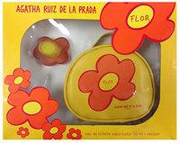 AGATHA RUIZ DE LA PRADA Flor 2-Piece Eau De Toilette Spray Plus Necessary Set for Women