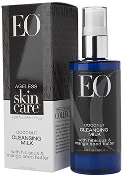 EO Ageless Skin Care Coconut Cleansing Milk with Hibiscus and Mango Seed Butter