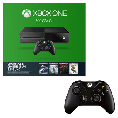 Microsoft Corp. Xbox One 500GB Name Your Game Bundle with Two Wireless Controllers, Black