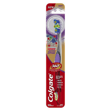 Colgate 360 4 Zone Clean FHS Manual Toothbrush 1 Count
