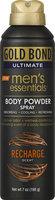 Gold Bond® Ultimate Men's Essentials Body Powder Spray Recharge
