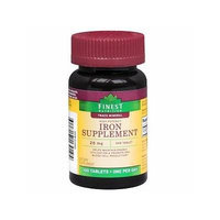 Finest Nutrition Iron Tablets 28mg 100 ea