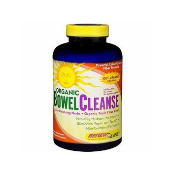 ReNew Life Organic Bowel Cleanse, Vegetable Capsules 150 ea