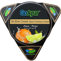 GoAyur Lemon Orange Ayurvedic Bust Firming Cream Herbal Re-Firm Cream Natural Lift