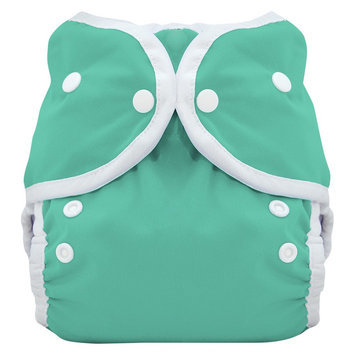 Thirsties Snap Duo Wrap Cloth Diaper - Moss (Green) Size One, Infant Unisex