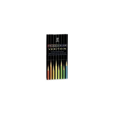 Prismacolor Verithin Colored Art 12-piece Woodcase Pencils