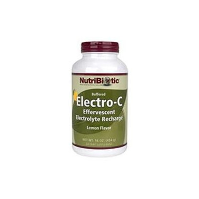 NutriBiotic Buffered Electro-C Lemon - 16 oz
