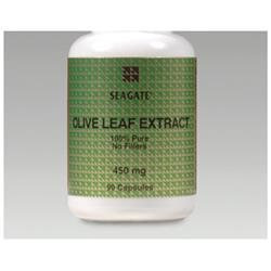 SEAGATE Seagate Olive Leaf Extract 450 mg, (90 Veg capsules)