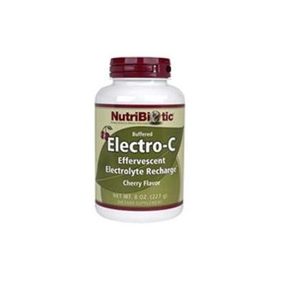 Nutribiotic - Electro-C Buffered Effervescent Electrolyte Recharge Cherry - 8 oz.
