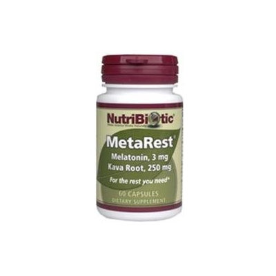 Nutribiotic Metarest Capsules - 60 Capsules - Other Supplements