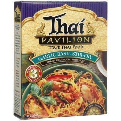 Thai Pavilion Garlic Basil Stir-Fry, 7.05-Ounce Boxes (Pack of 6)