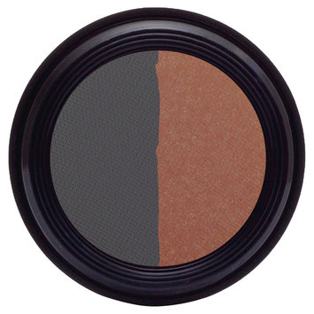 Real Purity Natural Duo Eye Shadow (Navy/Icy Rose) - 0.2 oz, Navy Icy Rose