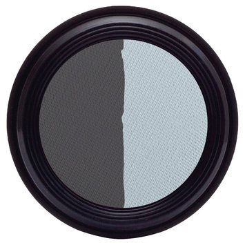 Real Purity Natural Duo Eye Shadow (Crystal/Navy) - 0.2 oz, Crystal Navy
