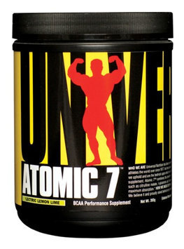 Universal Nutrition - Atomic 7 BCAA Performance 'Lectric Lemon Lime 30 Servings - 393 Grams