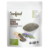 SunFood Organic Chia Seeds Raw 1 lb