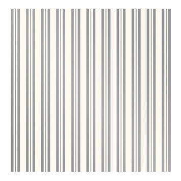 Devine Color Stripe Peel and Stick Wallpaper Sterling and Lightning- Sample, Lt Grey