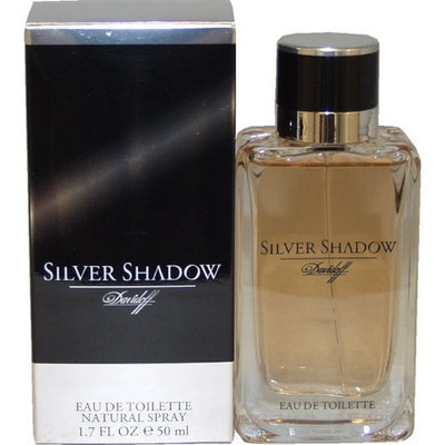 Silver Shadow By Davidoff For Men. Eau De Toilette Spray 1.7 Ounces