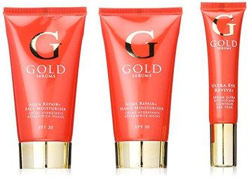 Gold Serums Bag Set Aqua Repair Plus Face Moisturiser