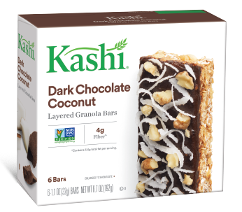 Kashi® Dark Chocolate Coconut Layered Granola Bars