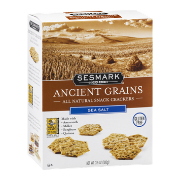 Sesmark Ancient Grains Snack Crackers Sea Salt