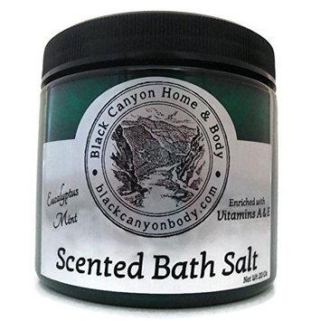Black Canyon Eucalyptus Mint Bath Sea Salts