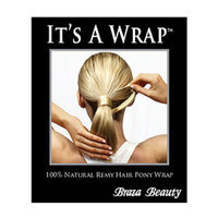 Braza It's A Wrap, medium brown red, 1 ea