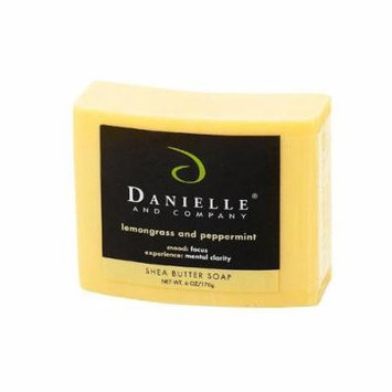 Danielle and Company Lemongrass & Peppermint Organic Bar Soap