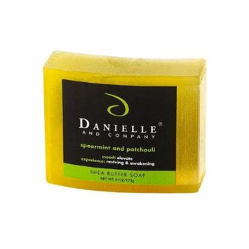 Danielle and Company Spearmint & Patchouli Organic Bar Soap