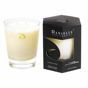 Danielle and Company Manly Man Organic Beeswax and Pure Soy Candle
