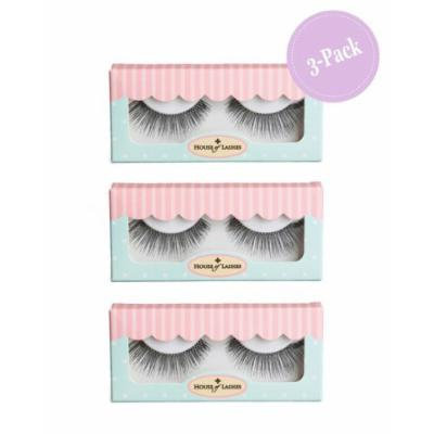 House of Lashes , Hollywood Glam False Eyelashes 3 Combo Pack , Premium Quality False Eyelashes for a Great Value, Cruelty Free , Eco Friendly