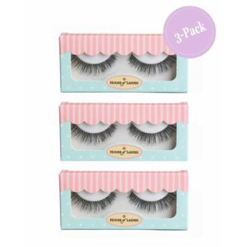House of Lashes , Sweet Romance 3 Combo Pack , Premium Quality False Eyelashes for a Great Value, Cruelty Free , Eco Friendly