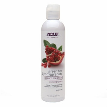 NOW Solutions Green Tea Pomegranate Face Cleanser