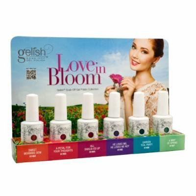 Set of 6 Harmony Gelish LOVE IN BLOOM Collection Soak Off Gel Nail Polish .5 oz