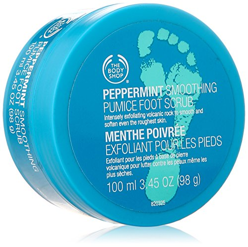 The Body Shop Peppermint Smoothing Pumice Foot Scrub